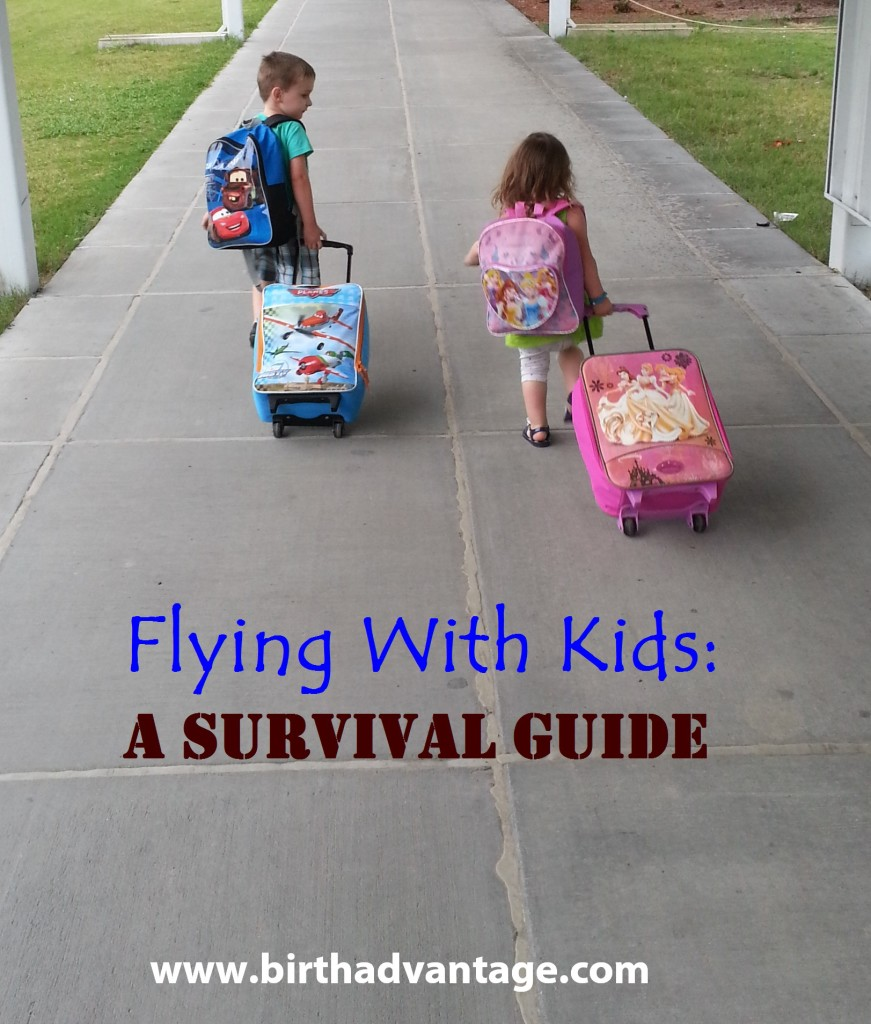 flying with children title