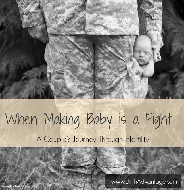 when making baby is a fight TITLE