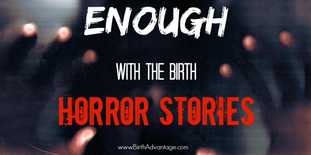 Enough With The Birth Horror Stories title