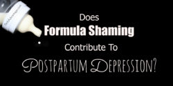 Does Formula Shaming Contribute To Postpartum Depression title
